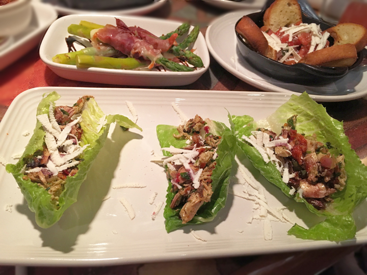 Italian Lettuce Wraps at Carrabba's Italian Grill