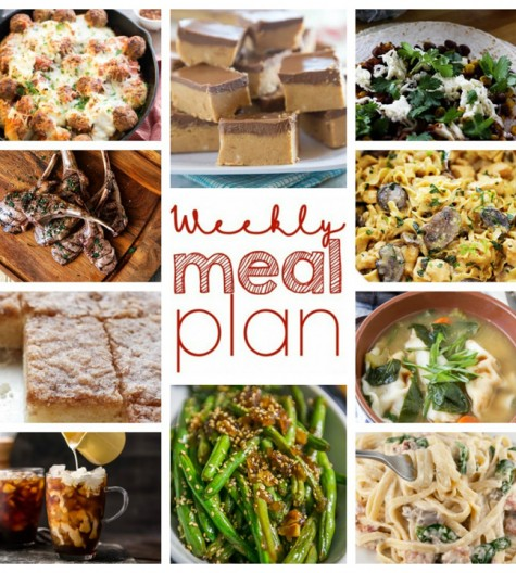 Weekly Meal Plan {Week 37} - 10 talented food bloggers collaborating to bring you a full week of recipes that include main courses, sides dishes, and desserts!