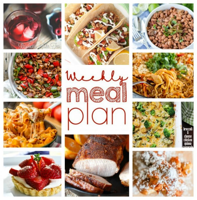 Look no further when making your grocery list this week. I have the Weekly Meal Plan Week 38 full of great bloggers' recipes: dinner, side dishes, and desserts!