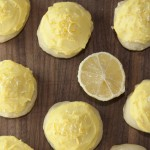 Italian Lemon Drop Cookies {Anginetti} are a fresh, bright cookie recipe for spring with the perfect amount of lemon flavor. The perfect Italian dessert!