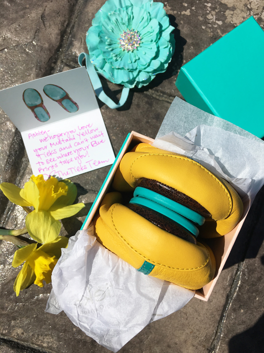 My Mustard Yellow Tieks Ballet Flats Review that I wrote just for fun. They are the perfect travel flats and I'm now completely obsessed!