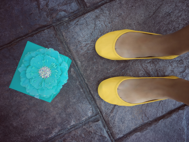 My review of my Yellow Tieks Ballet Flats: great for Spring, Summer, or Fall and worth the price and so comfortable!