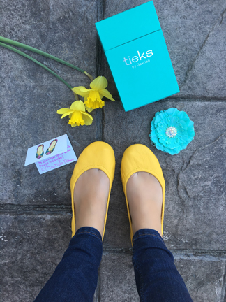 My Tieks Ballet Flats Review that I wrote just for fun. They are the perfect travel flats and I'm now completely obsessed!