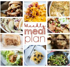 Weekly Meal Plan {Week 39} - 10 great food bloggers bringing you another full week of recipes that include all you need from dinner, sides dishes, desserts and more!