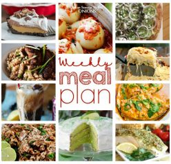 Another weekend, another meal plan. This Weekly Meal Plan {Week 41} has got you covered Sunday through Saturday with a full week of recipes including dinner, sides dishes, and desserts!