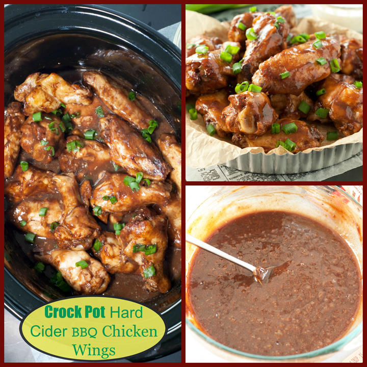 This recipe for Crock Pot Hard Cider BBQ Chicken Wings is packed with flavor and the easiest, most effortless party appetizer or main course you can possibly make!