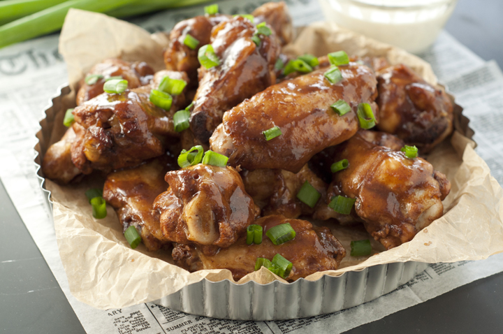 This recipe for Slow Cooker Hard Cider BBQ Chicken Wings is packed full of flavor and the easiest, most effortless party appetizer or dinner you can possibly make