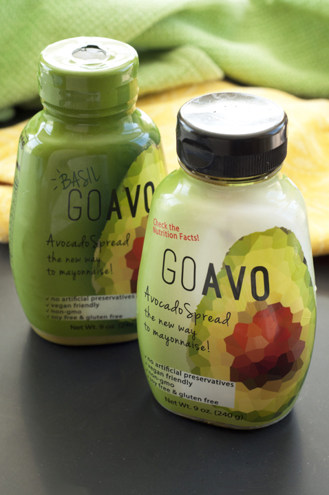 Healthy GoAvo Avocado Spread. The new gluten free and clean-eating alternative to mayonnaise!
