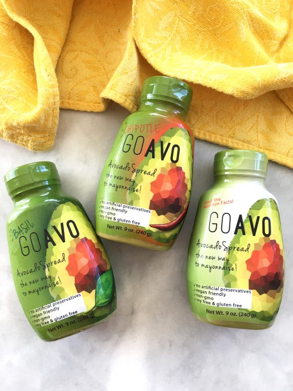 Go Avo Avocado Spread. The new and healthy way to mayonnaise!