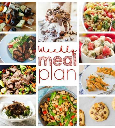 Save time, money, and your sanity with the Weekly Meal Plan {Week 43}. All of my favorite food bloggers friends are here bringing you a full week of delicious recipes including dinner, sides dishes, and desserts!