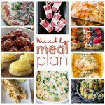 Weekly Meal Plan {Week 44} to make your busy week a little more bearable. I am providing you with a full week of easy recipes including dinner, sides, and desserts!