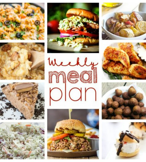 Here I am to save the day (or week) with your Weekly Meal Plan {Week 45}! Ten great bloggers bringing you a full week of amazingly delicious recipes including easy dinners, a variety of sides dishes, and sweets!
