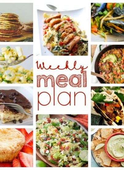 Here is the Weekly Meal Plan {Week 46} just for you! Ten great bloggers bringing you a full week of recipes including dinner, sides dishes, and desserts!