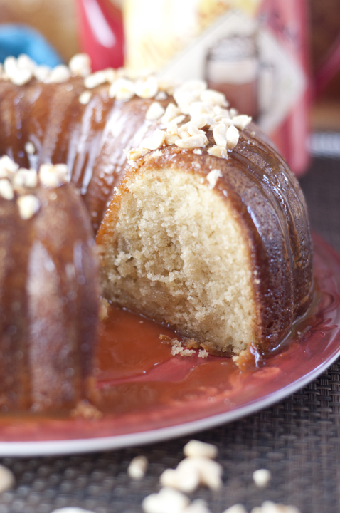 Salted Caramel Cake Recipe salted caramel kentucky butter cake | wishes and dishes