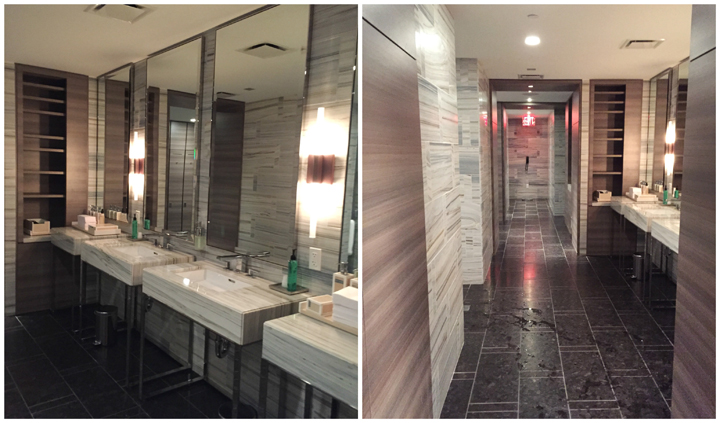 The Spa and shower rooms at the Park Hyatt New York City