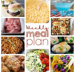 Weekly Meal Plan {Week 47} - 10 great bloggers bringing you a full week of recipes including dinner, sides dishes, and desserts!