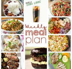 Weekly Meal Plan {Week 49} - the same great group of my blogger buddies bringing you a full week of recipe ideas including dinner, sides dishes, and desserts!