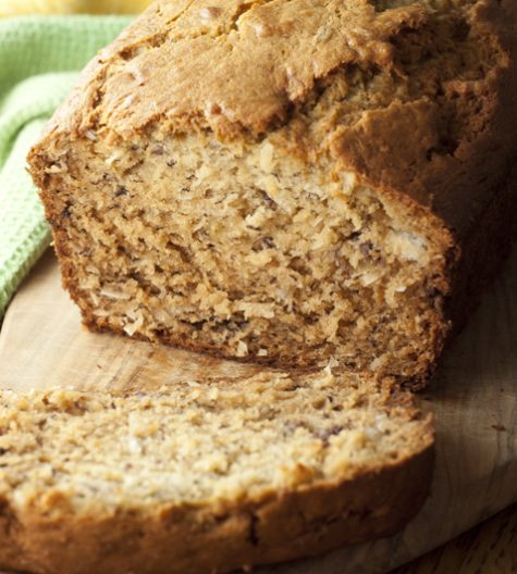 Island-inspired Coconut Banana Bread recipe is a tropical twist on traditional banana bread that you will love!