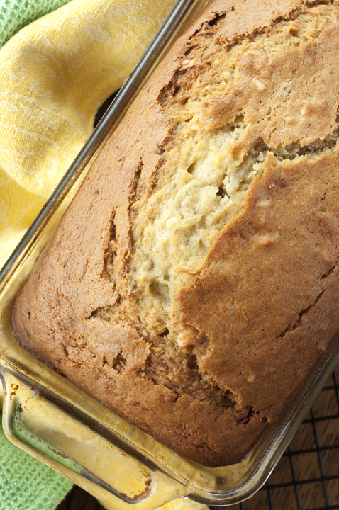 Island-inspired Coconut Banana Bread recipe is a tropical twist on traditional banana bread that can be breakfast, brunch, or dessert!