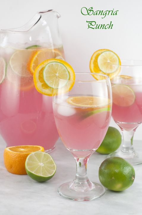 Sangria Punch {Kid-Friendly} recipe is so refreshing and will cool you ...
