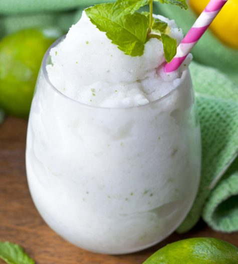"Frozen Coconut Mojito drink recipe, or ""Cocojito"", is an icy taste ..."