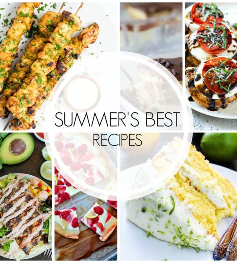 20 Best Summer Recipes will help you savor this last stretch of summer with easy recipe ideas (sweet and savory) for your whole family!