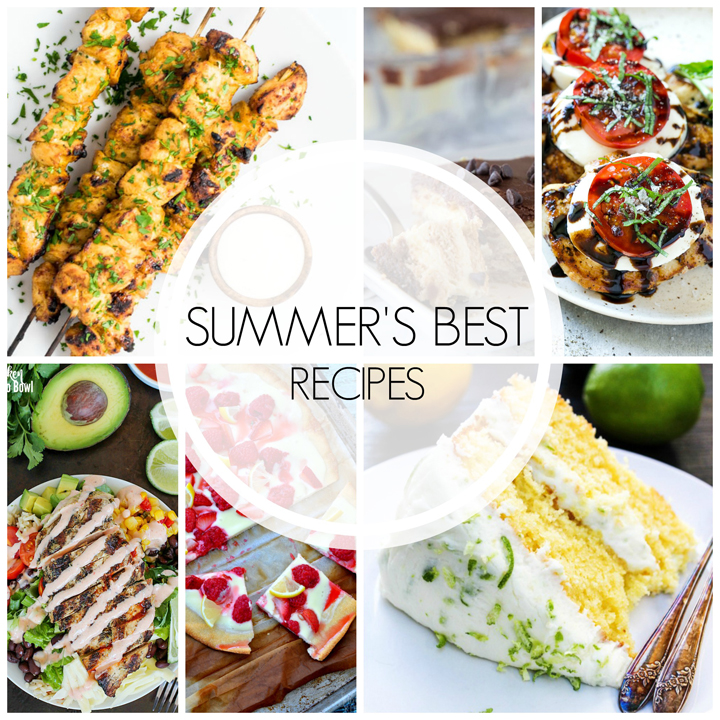 20 best summer recipes wishes and dishes