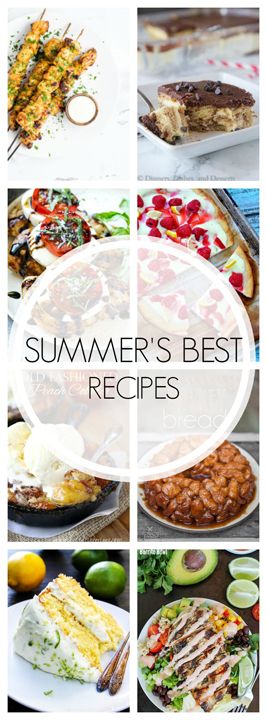 20 Best Summer Recipes will help you savor this last stretch of summer with easy recipe ideas (sweet and savory) for your whole family to enjoy!
