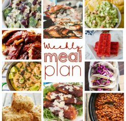 Weekly Meal Plan {Week 58} – ten food bloggers providing you with a full week of recipes including dinner, sides dishes, and desserts!