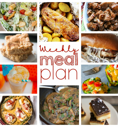Welcome to the Weekly Meal Plan {Week 59} where myself and 9 other food bloggers bring you a full week of recipes including suppers, sides, and