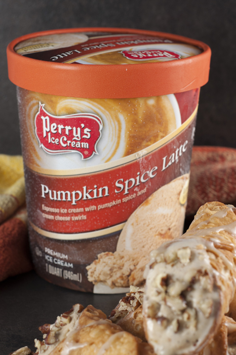 Perry's Pumpkin Spice Latte Limited Edition Ice Cream Flavor, Akron New York