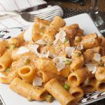 Spicy Chicken Rigatoni + Barilla® Go Orange to End Hunger Campaign!
