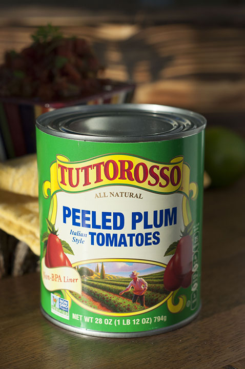 Italian-Style Tuttorosso Peeled Plum Tomatoes Photo