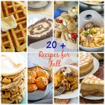 From savory sweet potato dishes to sweet pumpkin desserts, you'll love these recipes that feature our favorite fall bounty. Here are more than 20 Recipes For Fall you must make!