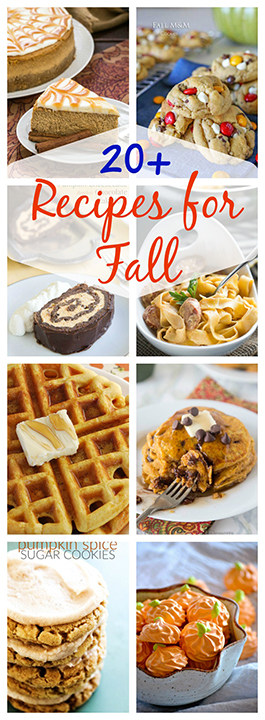 From savory sweet potato dishes to sweet pumpkin desserts, you'll love these recipes that feature our favorite fall bounty. Here are more than 20 Recipes For Fall holidays that you must make!