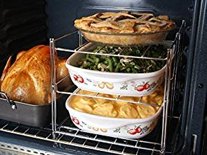 3 Tier Collapsible Oven Cooking Rack Photo