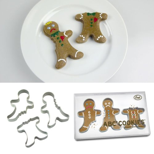 """Already Been Chewed"" Gingerbread Man Cookie Cutter Photo"