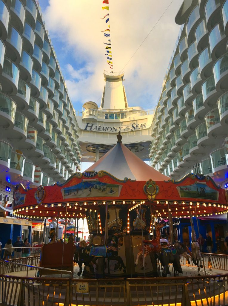 The Carousel on the Boardwalk, Harmony of the Seas