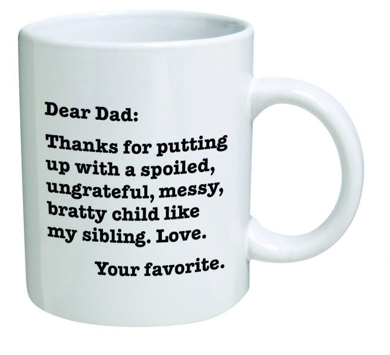 Dear Dad Coffee Mug