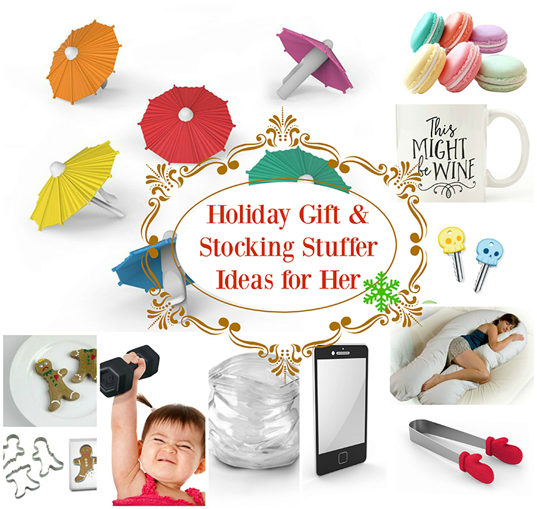 My collection of Holiday Gift & Stocking Stuffer Ideas for Her has a little bit of serious, a little bit of fun! You will love these unique ideas that you never would have thought of!