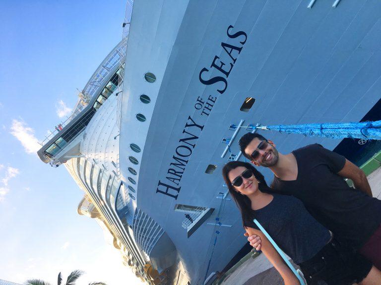 Boarding the Ship from the Bahamas, Harmony of the Seas, Royal Caribbean