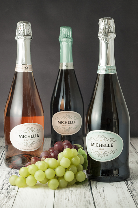 Three Varieties of Michelle Sparkling Wine Product Photo