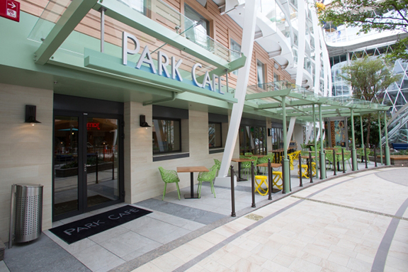 Park Cafe in Central Park on the Harmony of the Seas.