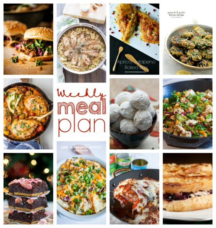 Weekly Meal Plan {Week 72} – 11 terrific bloggers bringing you a full week of recipes including dinner, sides dishes, desserts, and ideas for your Thanksgiving leftovers!