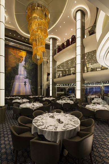 The Main Dining room, Harmony of the Seas.