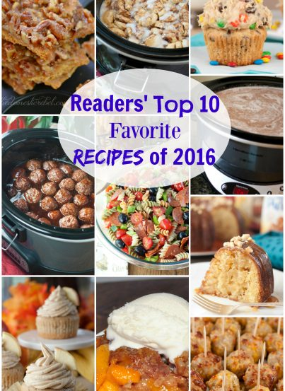 You all have great taste! I gathered the ten most popular and best recipes on Wishes and Dishes from the year 2016! These are the recipes that gained the most views from all of you amazing readers!