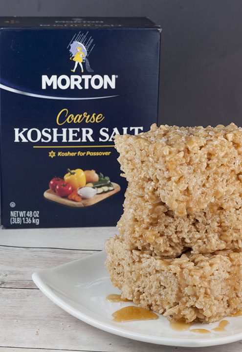 these easy and tasty Salted Caramel Browned Butter Rice Krispie Treats ...