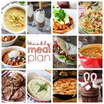 Weekly Meal Plan {Week 76} – 11 great bloggers bringing you a full week of recipes for the New Year including dinner, sides dishes, and desserts!