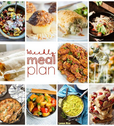 Weekly Meal Plan {Week 79} – 11 great bloggers bringing you an entire week of recipe ideas including dinners, sides dishes, and sweet treats!