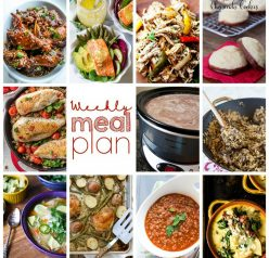 Weekly Meal Plan {Week 81} – 11 food bloggers bringing you a full week of recipes your way - dinner, sides dishes, and desserts!